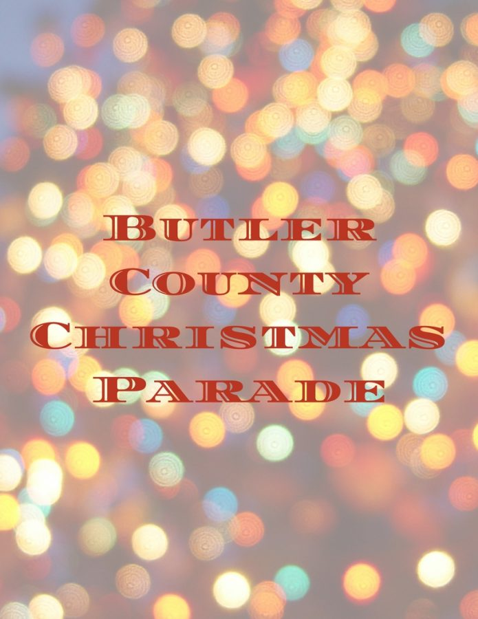 marching band attends butler christmas parade