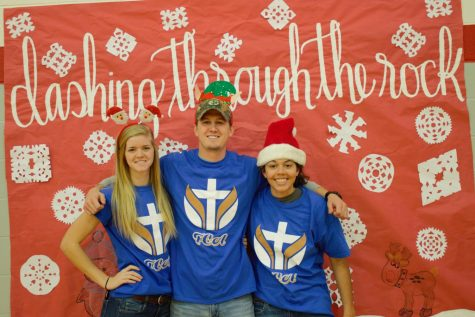 Jenna Heitzenrater, Mr . Christy, and Jada Butler attended the event.