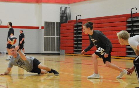 Wellness Club and Student Council Host NitroBall Tournament